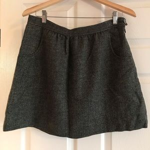 J. Crew tweed wool sparkle skirt,  size 4